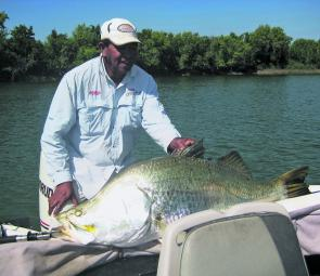 Lance has been a professional guide for decades, catching XOS barra all over the top of Australia.