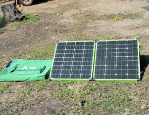 Korr solar panels will top up any batteries in short order.
