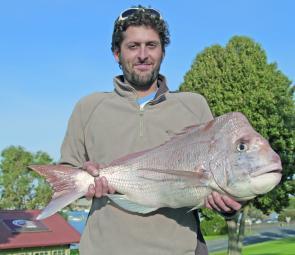 An example of the quality snapper on offer around Portland in July.