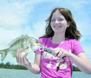 Bream are in very good numbers, which are a regular catch in the shallow gutters on worms.