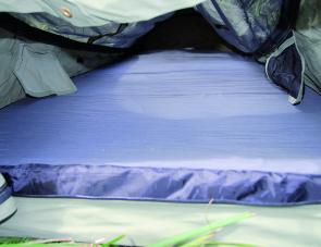 A sturdy 7cm thick mattress is featured within the Mitchell swag.