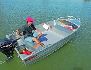 What you see is what you get. The 380 Big Boy is a no-frills, budget rig that's ideal for a lot of fishing situations.