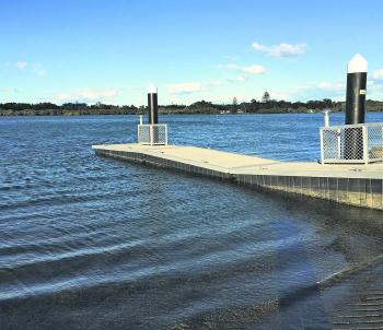 Another example of one of the recently upgraded ramps in the Lake Mac region. This one is at Swansea channel, and is a huge improvement on the previous ramp.