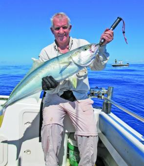 The bottom has been fishing well for snapper, kingies and the occasional ambo for keen jiggers.