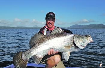 Trolling the basin at Lake Proserpine will produce some big barramundi this month. It's hard to beat the RMG Scorpion Crazy Deep when it comes to tempting these fish.