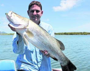 Don't drop the bait casters just yet, there are still plenty of barra on offer through April.