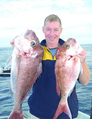 This pair of snappers shows the species are still around in good numbers – and size!
