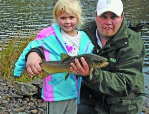 Trout shouldn't be ignored either, as the author and his daughter show here.