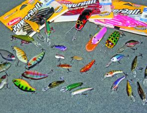 A good selection of lures for Hume that will snare all the species you are after.