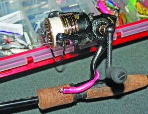 Berkley T Tails rigged on a smallish jig head is a popular presentation.