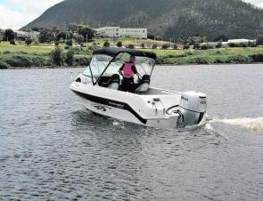 On the water is where this boat really excels – a terrific boat indeed.