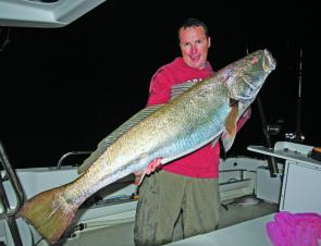 This 50lb jew was caught on a recent overnight trip in 25m of water off the Tweed.