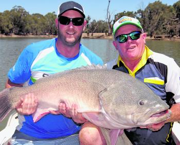 A ripper cod caught on the cast using a Bassman 4x4 spinnerbait.