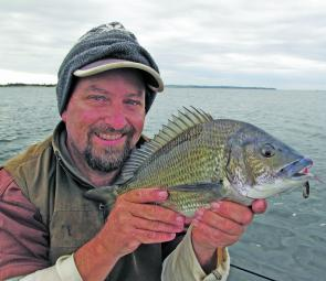 It might be cold but a jacket and beanie will help you find plenty of nice bream.