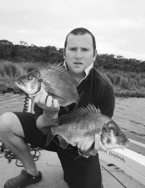 Bream are a little more illusive during winter but quality fish can still be caught once a school has been located.