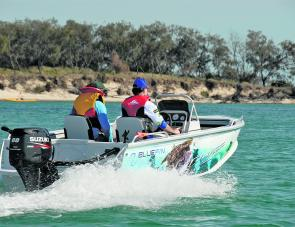 The 4.35 Drifter Tournament Pro and 60 Suzuki are a brilliant combination and would easily suit beginners or more experienced boaters. .