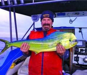 Dave Magilton with a mahi mahi taken off Warrnambool.