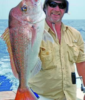 Quality snapper will show up on the inshore reefs and throughout the Moreton Bay area this month.