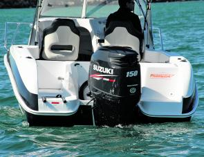 The Suzuki 150 was a good power match for the solid ProCraft hull.