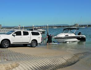 A well built Dunbier trailer made it easy to launch and retrieve the ProCraft.