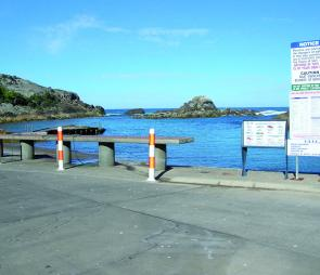 The boat launching and fish-cleaning facilities at Tathra's Kianinny Bay are first class.