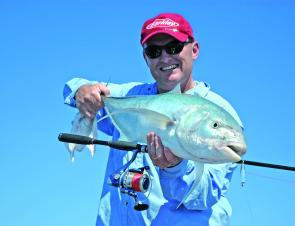 Trevally, along with chopper tailor will be available in August.