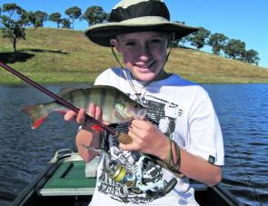 School holidays, redfin and kids are a great combination. The fish are not always big but the young ones don't care.