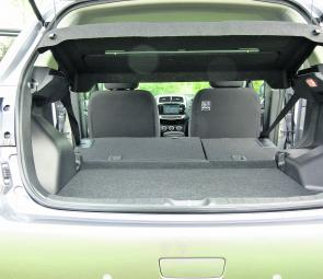 Fill that lot with fishing gear! With rear seats down in a 60/40 fold there's over 1100L capacity of storage area in the rear of the ASX.