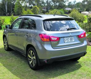 Clearly defined styling sets the ASX well apart from rivals in the hotly contested small SUV class.