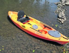 Canoe & Kayak's 2012 Fishing Kayak of the Year – Wilderness Systems Ride 115.