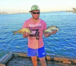Bream are always a feature of autumn angling on Port Phillip.