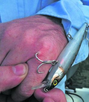 Even the most experienced anglers can get into strife around lures.