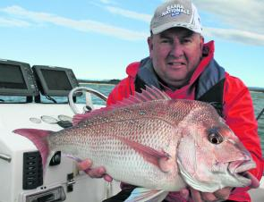 Snapper like this should be a real option this month. Try float lining pilchards or bonito strips.