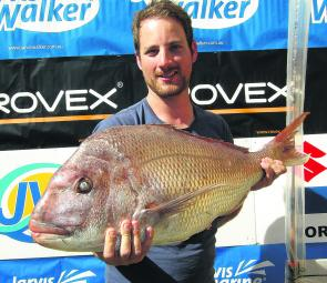 The Victorian Snapper Champion for 2013 is David Steen of Carrum with a 10.26kg fish.