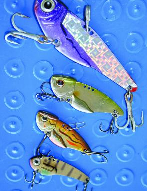 Blade baits are really effective in deeper water as you can target specific depths quite easily with these offerings.