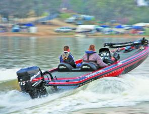 Heading off 1st on the final session Mott was never bettered, claiming his 3rd Skeeter Boats BASS Pro Grand Final win.