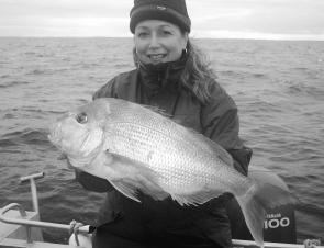 Prior to the recent deluges offshore fishing for snapper was very good.