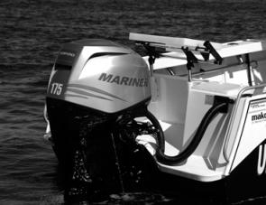 The Mariner 175 Verado is a brilliant engine, well suited to powering the Mako Craft 610 Canyon Runner.