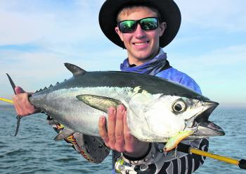 The tuna action has been fantastic in Weipa lately.