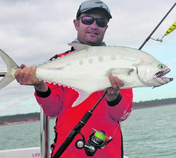 Queenfish have consistently been providing surface action.