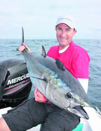Lee Rayner is a veteran to southern bluefin tuna fishing, and has many under his belt to date.