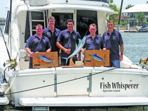 The SCGFC Classic winning team from Fish Whisperer.