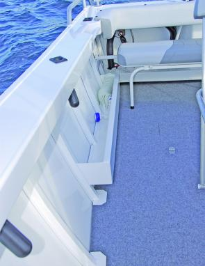 What sort of fishing boat would come without a deck wash?