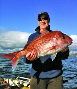 Wayne Williams with a solid Mt Martha red.