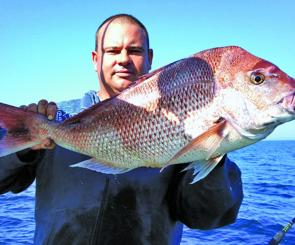 Brent Rietman loves late season snapper fishing and has managed some big hauls over the last couple of months.