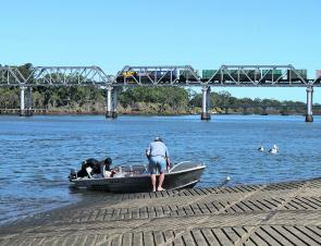 With the town's main boat ramp back in action, the local fishos have been making up for lost time on the water.