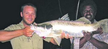 Big barramundi on surface lures is a major drawcard for anglers during this period.