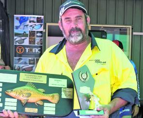 Darryl Rutch Took out the heaviest yellowbelly prize with a whopper of 2.755kg.