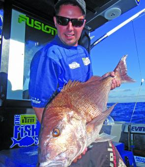 An angler's dream: thumping snapper feature heavily in the upcoming TV series