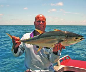 Yellowfin tuna have been among a wide array of species on offer this month.